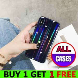 Accessories - NEW iPhone Max/XS/X/7/8/Plus Aurora Heart Case
